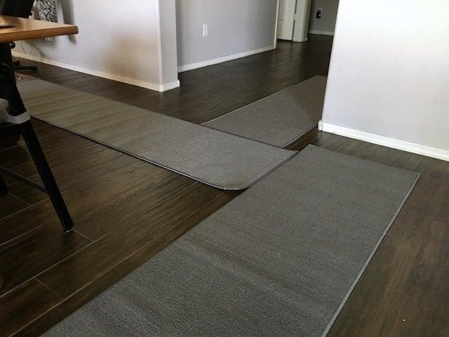 runner rugs for dogs with weak back legs