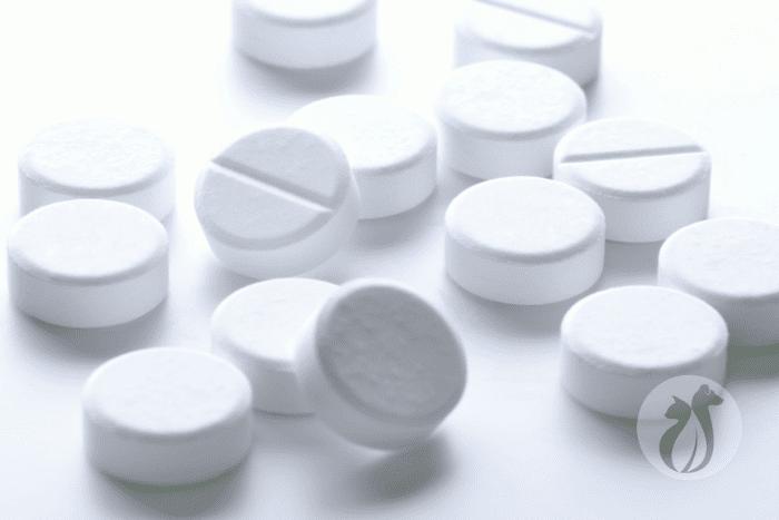 white tablets resembling prednisone pills